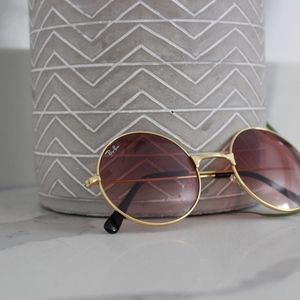rose colored ray-ban sunglasses